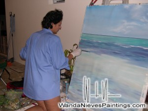 WIN pintando