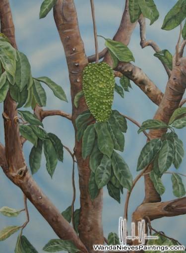 Guanabana Fruit & Tree trait